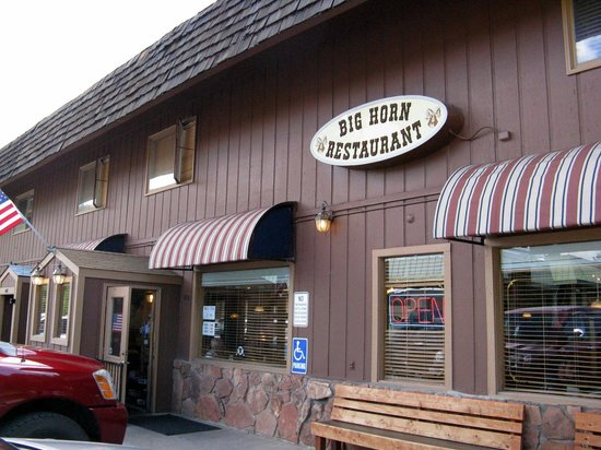 Big Horn Restaurant: DO THE HORN!