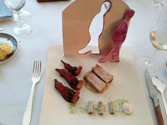 La Palme d'Or : Pork with 3 variations