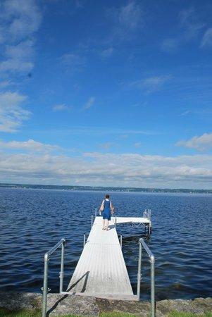 E.B. Morgan House : Surreal views of Keuka Lake. Kayaks and canoes are also available.