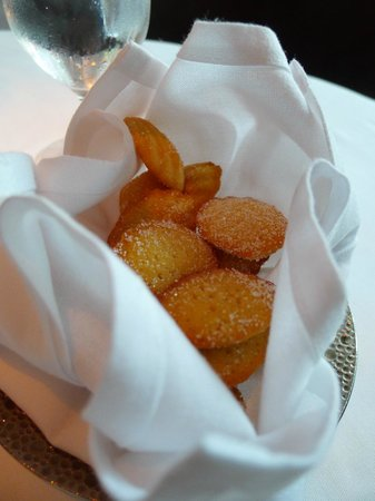 Caviar Russe : Complimentary Madeleines (of Proust) :)