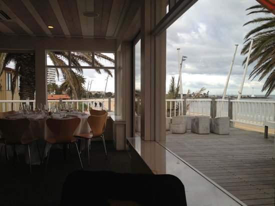 Stokehouse - Upstairs : Stokehouse Upstairs - beach views from the table