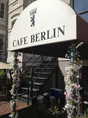 The entrance to Cafe Berlin