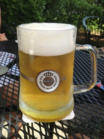 Cafe Berlin: A cold glass of Warsteiner