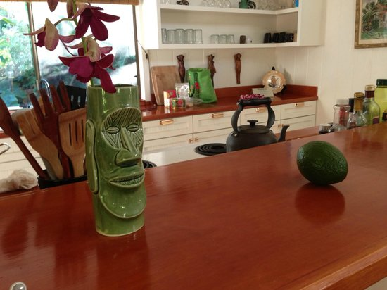 The Guest Houses at Malanai in Hana: Hale Manu Kitchen