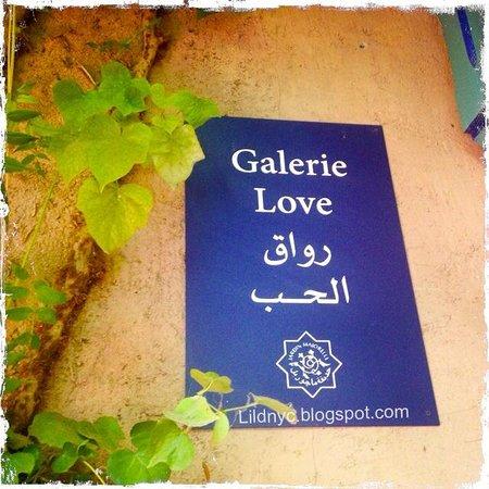Jardin Majorelle: Sign