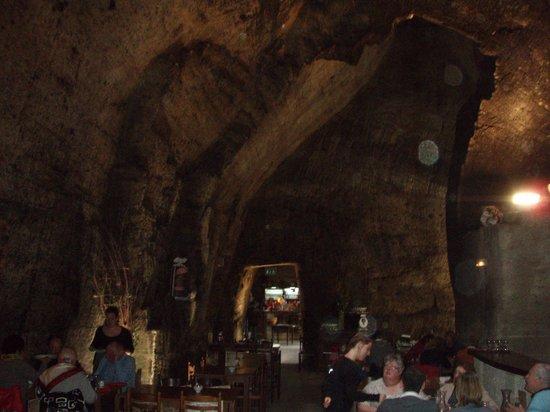 Les Cathedrales de la Saulaie : La salle à manger