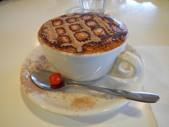 The Landing Cafe: cappucino