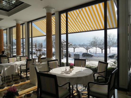 Victoria Jungfrau Grand Hotel & Spa: sala do café da manhã