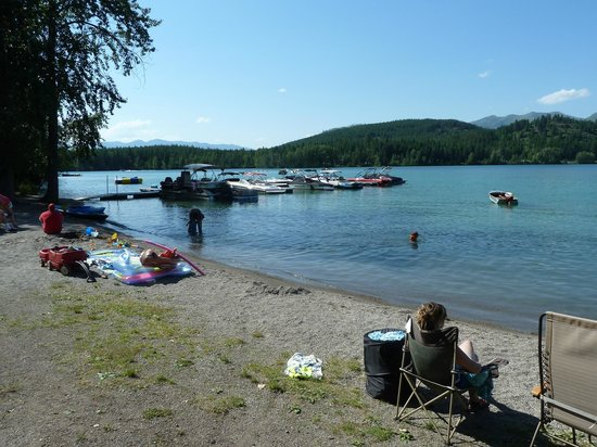 Lake Five Resort : Recreation area