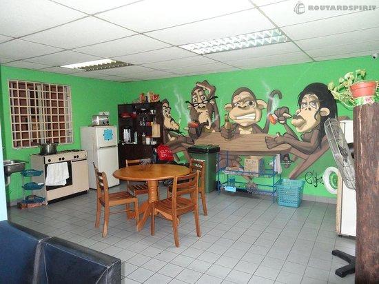 Happy Cat Guesthouse: La cuisine