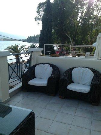 Aegean Villas: other side of balcony