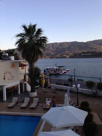 Aegean Villas: view from balcony, overlooks askeli beach