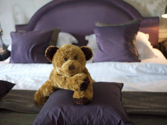 Bedroom detail, Cavendish Hotel