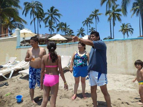 Los Tules Resort: en la playa