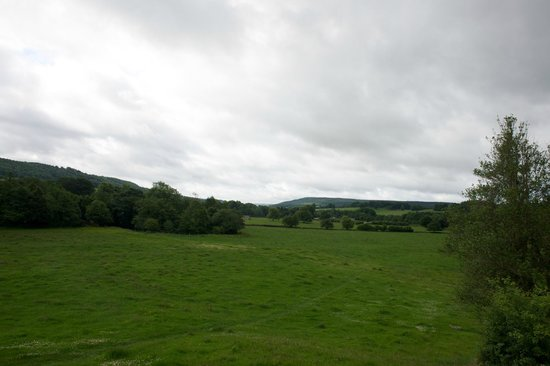 View from the Cavendish Hotel, looking towards the Chatsworth House estate