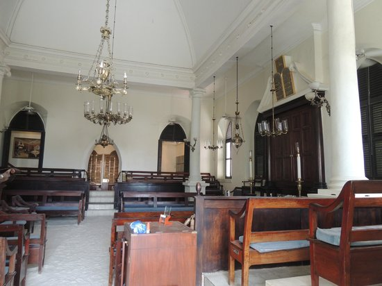 St. Thomas Synagogue : Synagogue-The Sand of Time