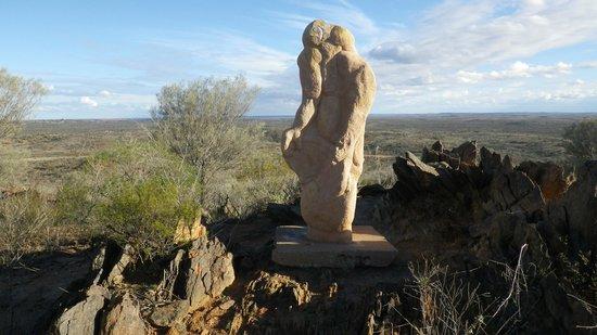 The Broken Hill Sculptures & Living Desert Sanctuary: modern art