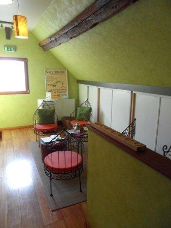 Le Jardin de Valentine : salle de repos/thé