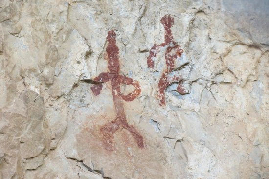 Garden Canyon: More rock art.
