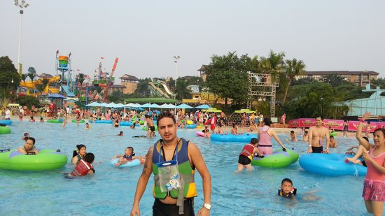 Chimelong Water Park : paradise of water