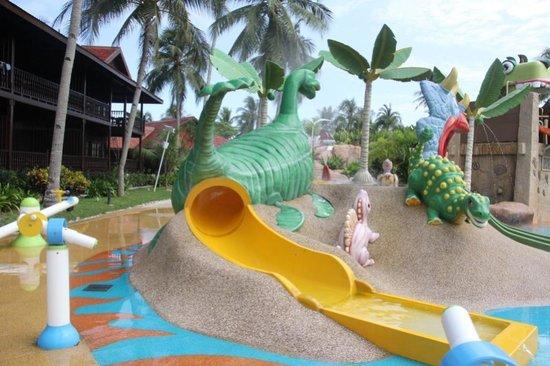 Meritus Pelangi Beach Resort Spa Langkawi Kids Water Play
