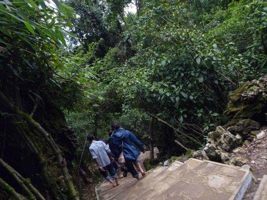 Mawjymbuin Cave: Mawjymbuin Exit