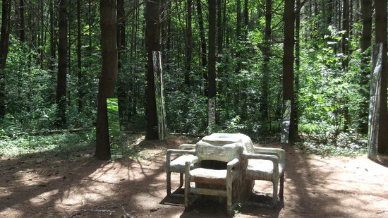Stevens Point Sculpture Park : Sculpture Trail