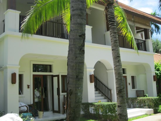 SALA Samui Resort And Spa: Garden Pool Villas and Deluxe rooms above