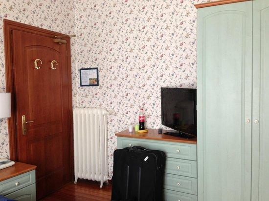 Hotel Eden: the room
