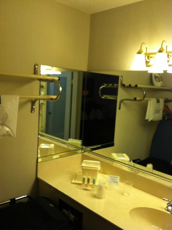 Quality Inn: Bathroom was spotless