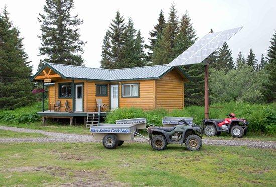 Silver Salmon Creek Lodge: Our Transportation