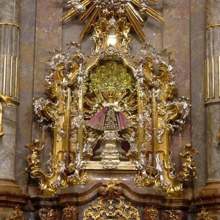 "Church of Our Lady Victorious (Infant Jesus of Prague) : Jesus Child - ""Infant of Prague"" at Church of Our Lady Victorious"
