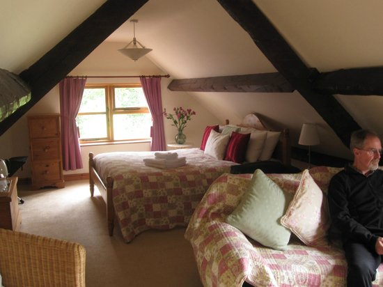 Great Trewern Bed and Breakfast: Very comfortable rooms