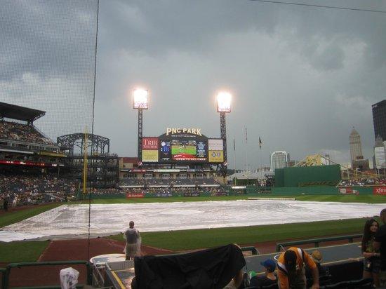 Rain Delay At PNC Park