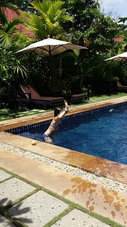 The Moon Boutique Hotel : great pool and a beautiful garden