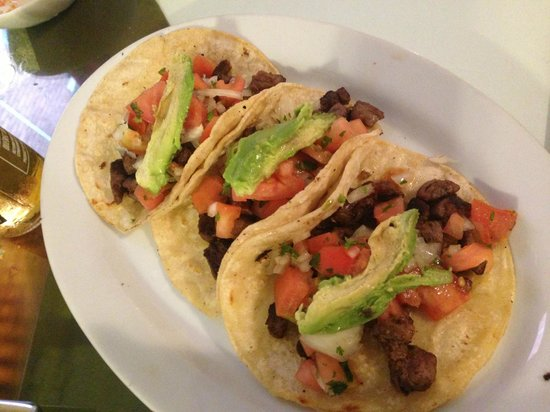 Casa Blanca Latinamerican Foods Restaurant: Steak Tacos