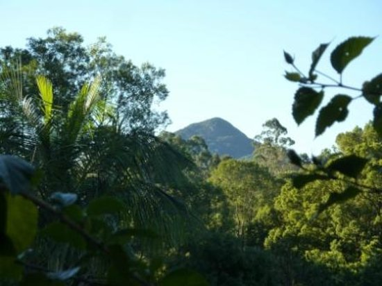 Eumundi's Hidden Valley Bed and Breakfast: The view