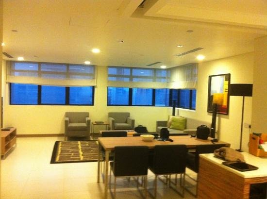 8 on Claymore Serviced Residences : Huge living room.