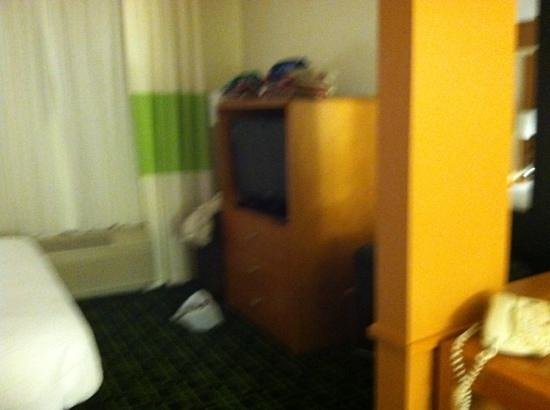 Fairfield Inn & Suites Muskegon Norton Shores: separate room??