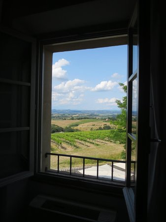 Villa Ducci: view from room