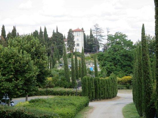 Villa Ducci: view