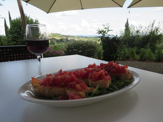 Hotel Villa Ducci: afternoon snack