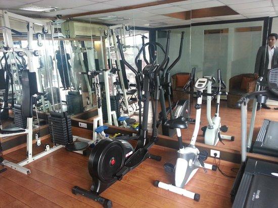 Rockland Inn: gym