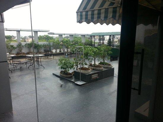 Rockland Inn: terreza