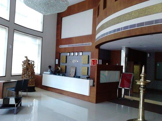 Harisree Residency : lobby