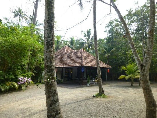 The Park on Vembanad Lake: The hotel entrance