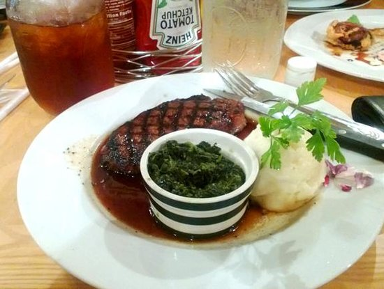 Lighthouse Restaurant : amazing steak