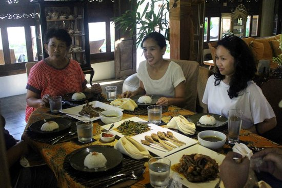 Ubud Syailendra Villas: Lunch