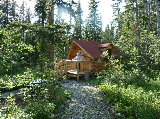 Tagish Wilderness Lodge : Our cabin at TWL