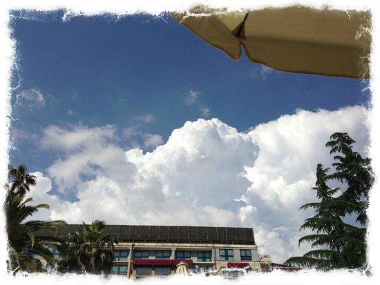 Parco dei Principi Grand Hotel & SPA: Beautiful clouds